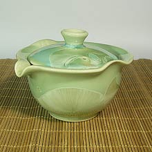 Emerald Green Crystal Gaiwan