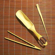 Bamboo Tea Scoop Set